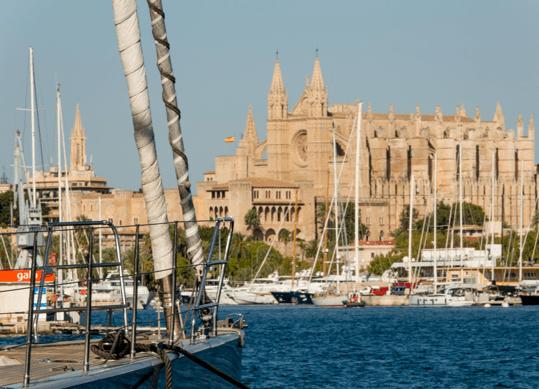 Amarres en el corazón de Palma de Mallorca